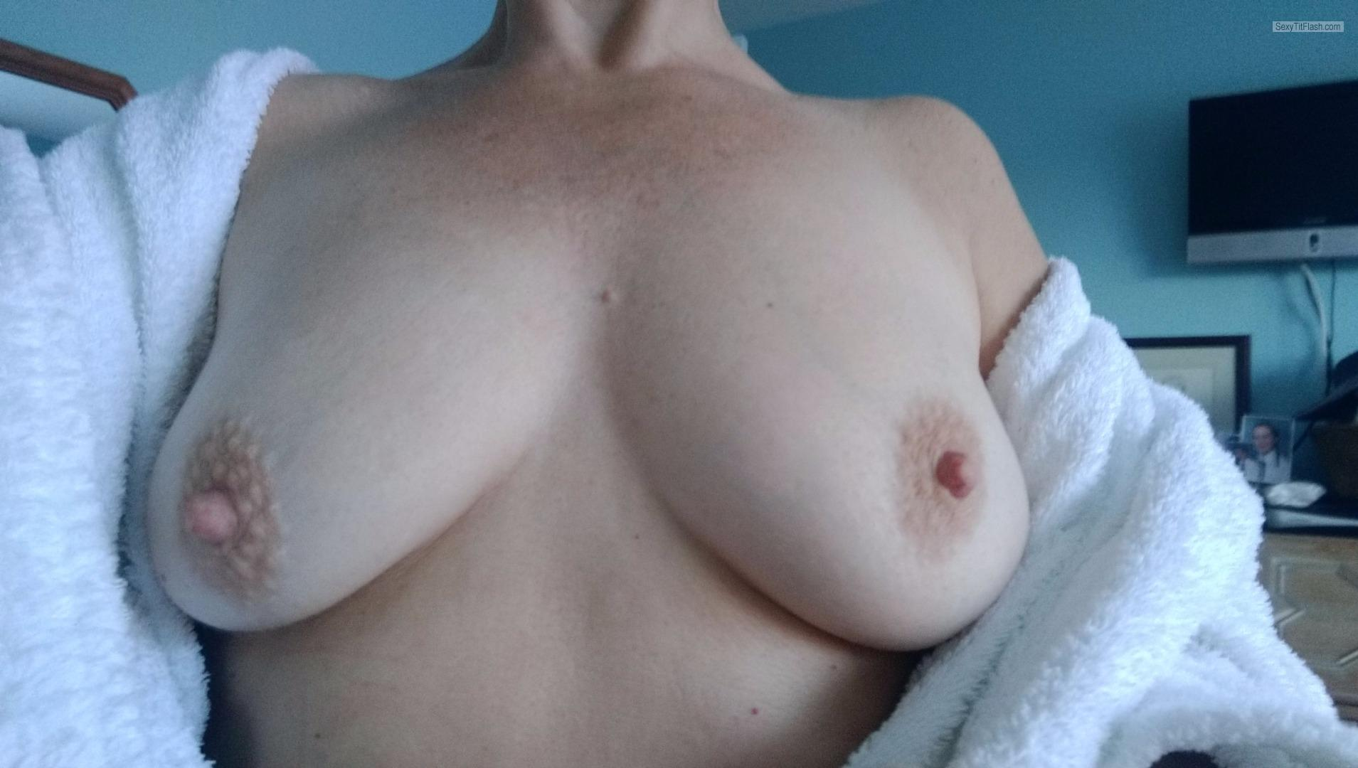 My Very small Tits Topless A Wife