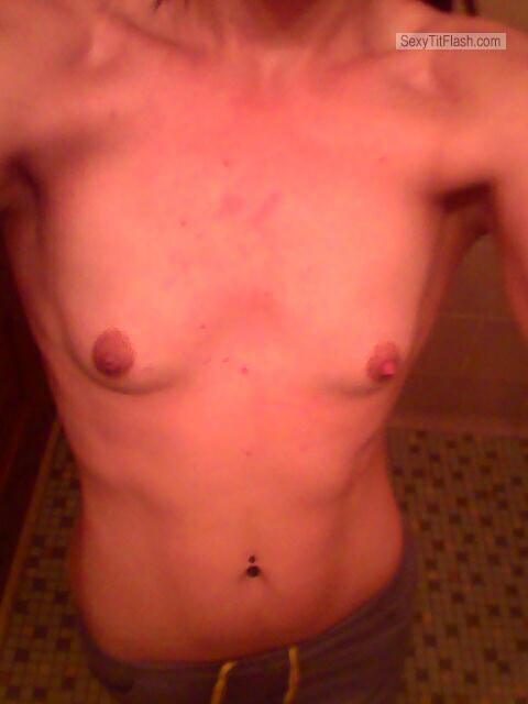 My Very small Tits Topless Danni