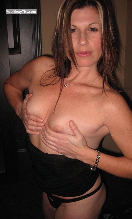 Tit Flash: Very Small Tits - Topless Jul;e from Canada