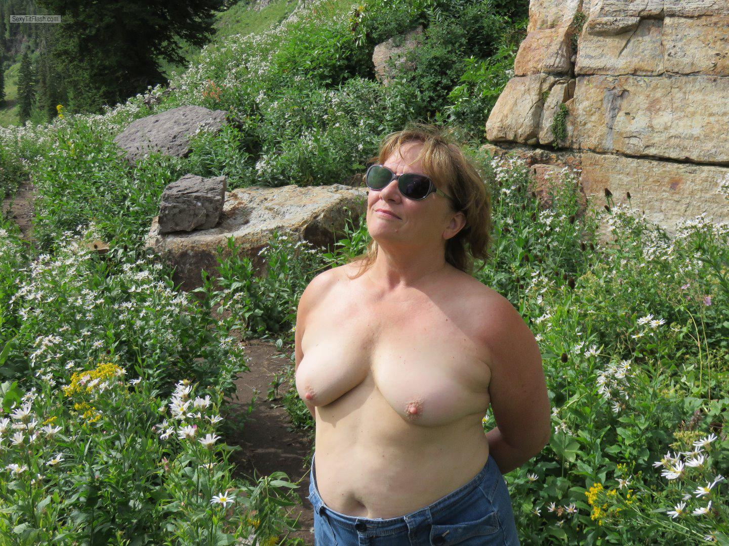 Tit Flash: My Very Small Tits - Karenkri from United States