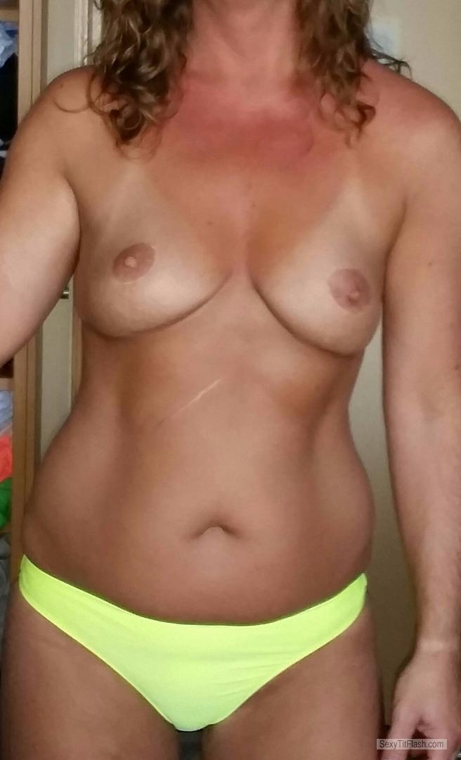 My Very small Tits Hot Wife