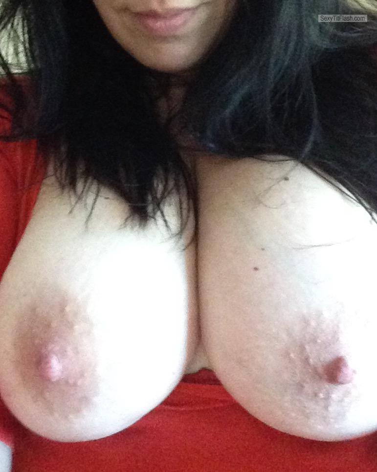 Tit Flash: My Big Tits - Shan from United States