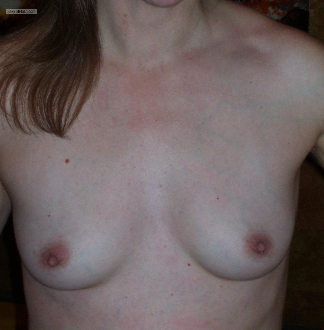 Tit Flash: My Very Small Tits - Sanny65 from Germany