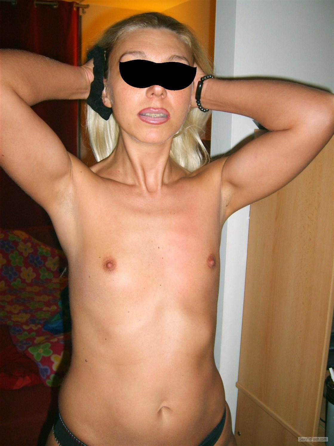 Very small Tits Of My Wife Nadja