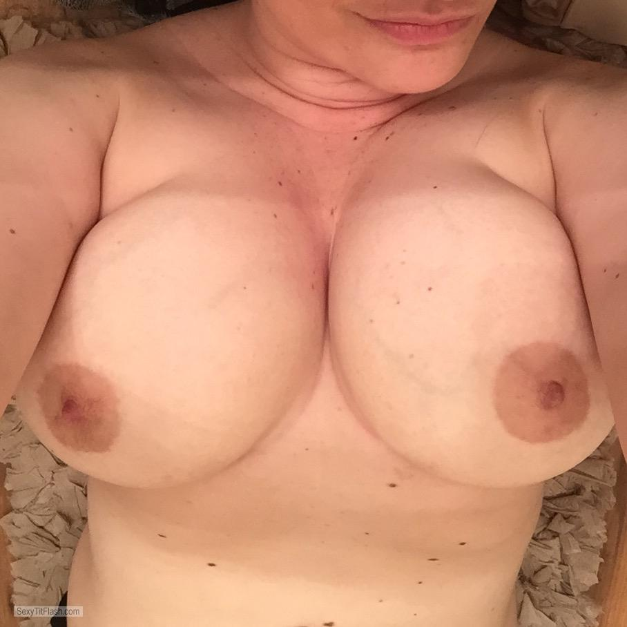 Tit Flash: My Very Small Tits (Selfie) - My Big Juicy Tits from Canada