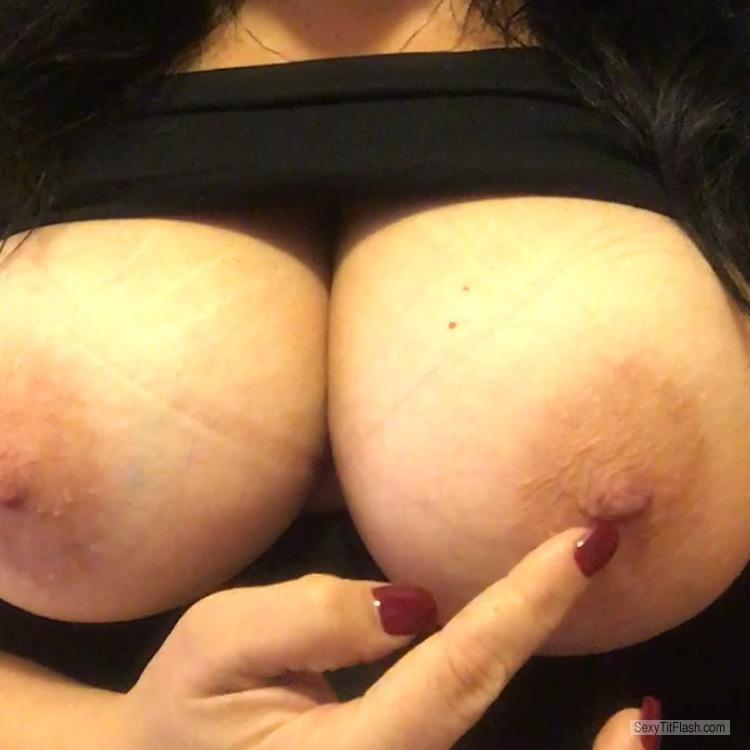 Tit Flash: My Very Small Tits - Topless Toys from United States