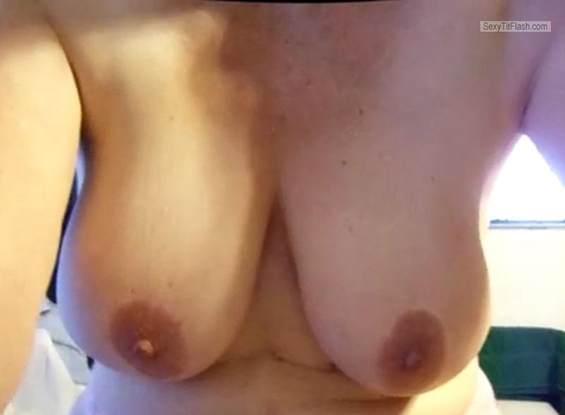 Tit Flash: My Very Small Tits - Pearl from United Kingdom
