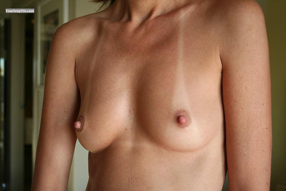 Tit Flash: My Very Small Tits With Strong Tanlines - Rsecret from United Kingdom