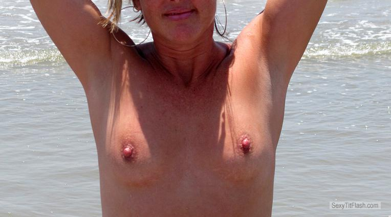 Tit Flash: My Very Small Tits - Snookie from United States