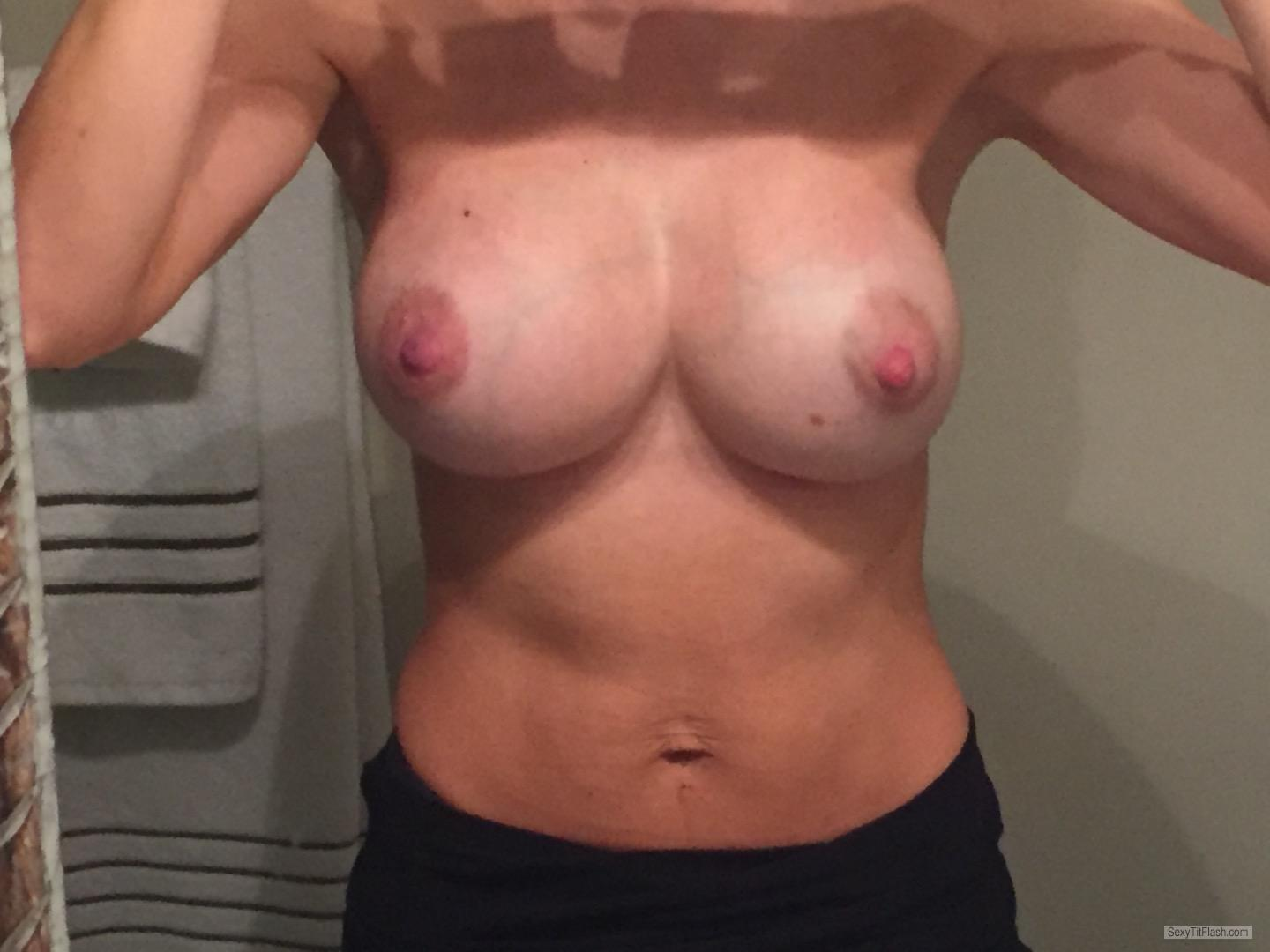 My Very small Tits Topless Selfie by Atlas