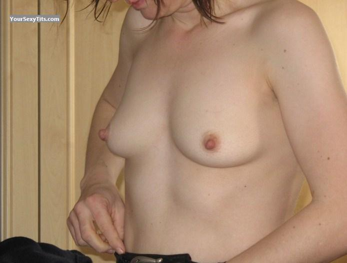 Tit Flash: Very Small Tits - Meesy from United Kingdom