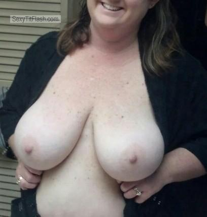 Tit Flash: My Big Tits (Selfie) - Katherine from United Kingdom