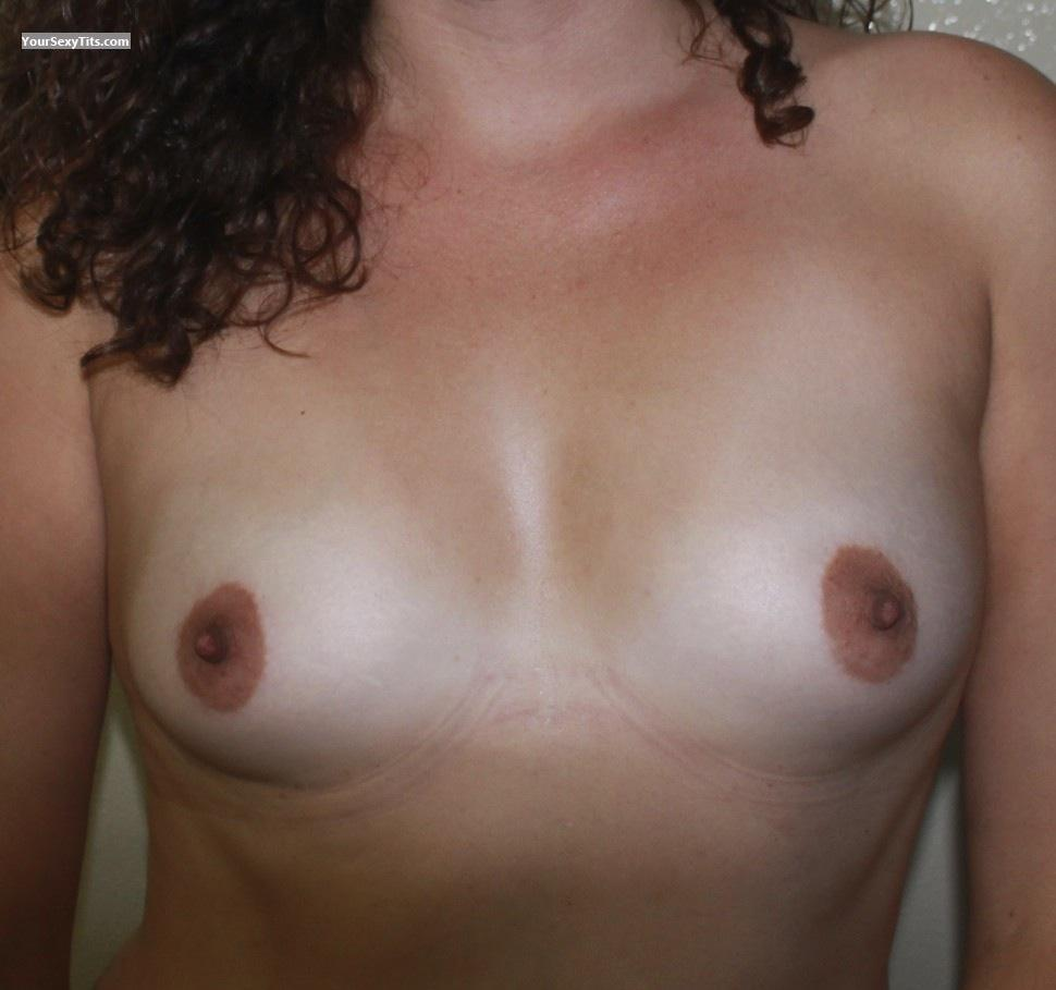 Tit Flash: Very Small Tits - Cali from United States