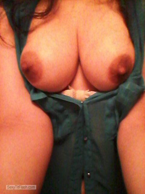Tit Flash: My Very Small Tits (Selfie) - Shy Anon from United Kingdom