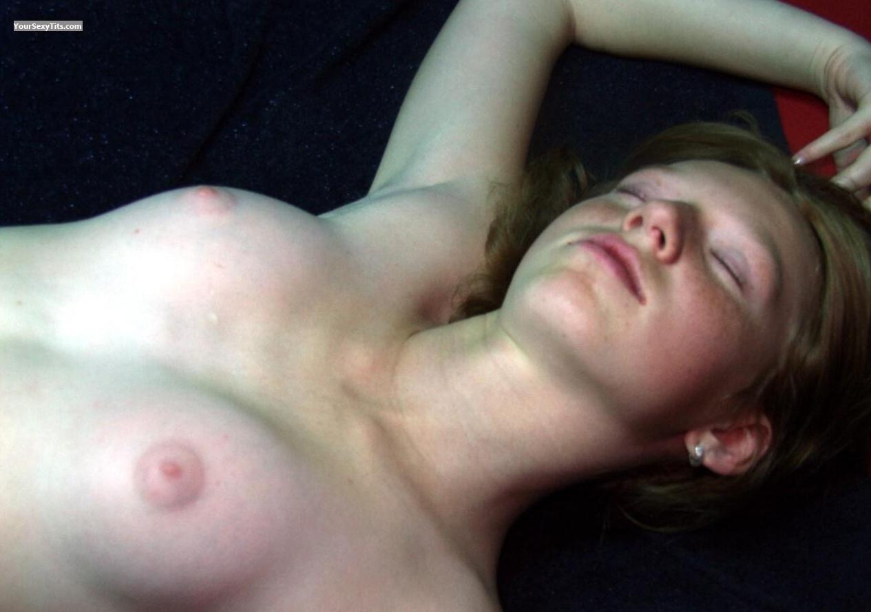 Very small Tits Topless RedBarbie