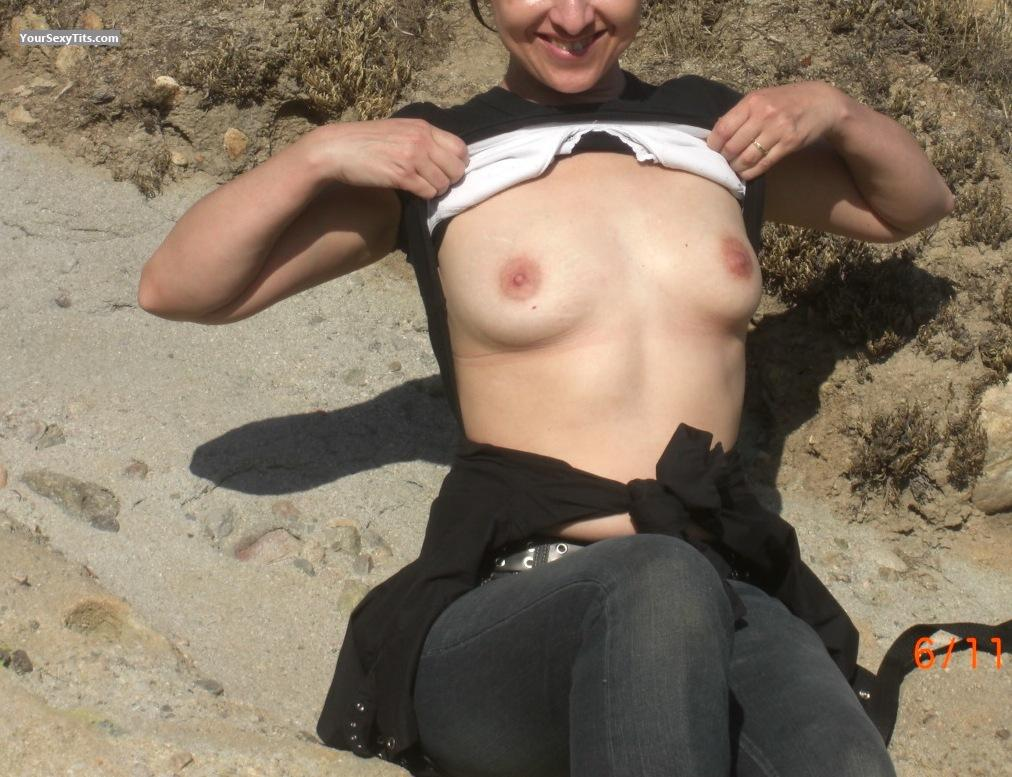 Tit Flash: Very Small Tits - Lenore from United Kingdom