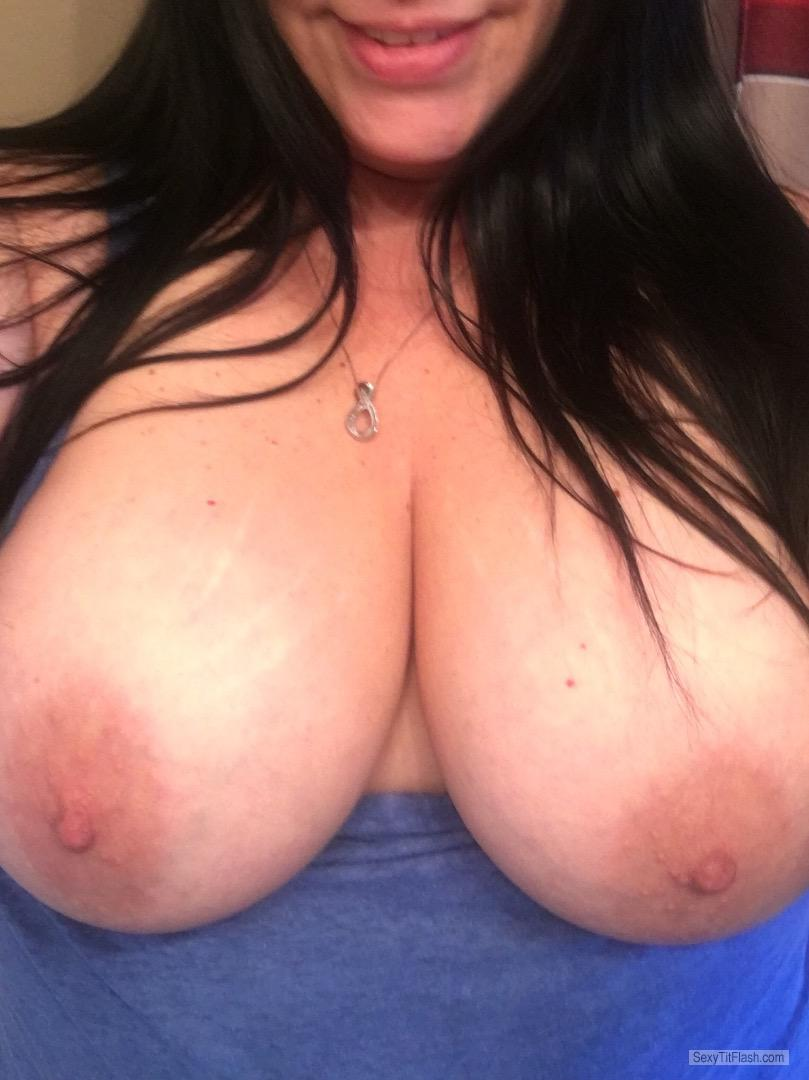 My Very small Tits Topless Selfie by Shan