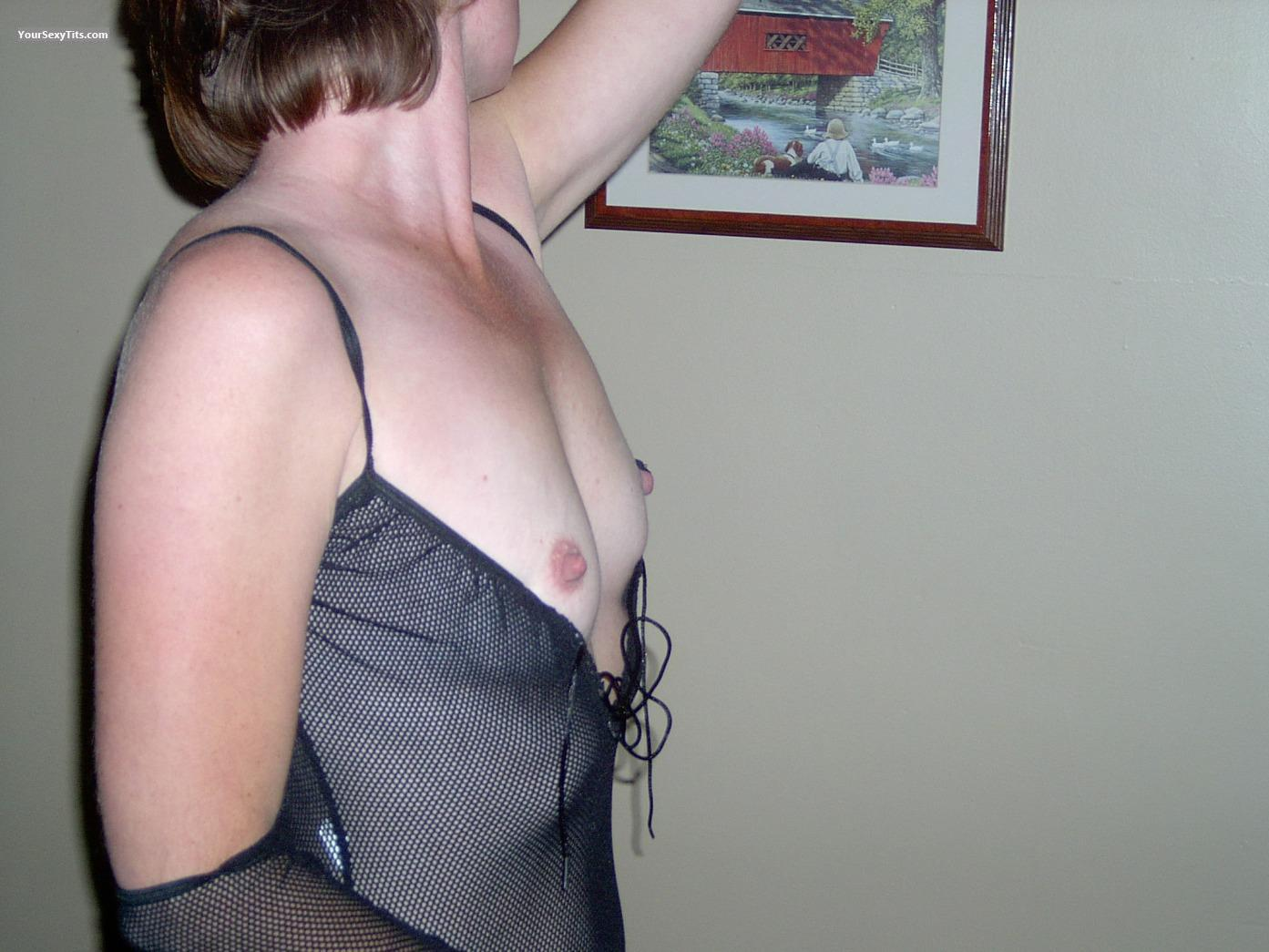 Tit Flash: Very Small Tits - Sunshine from Canada