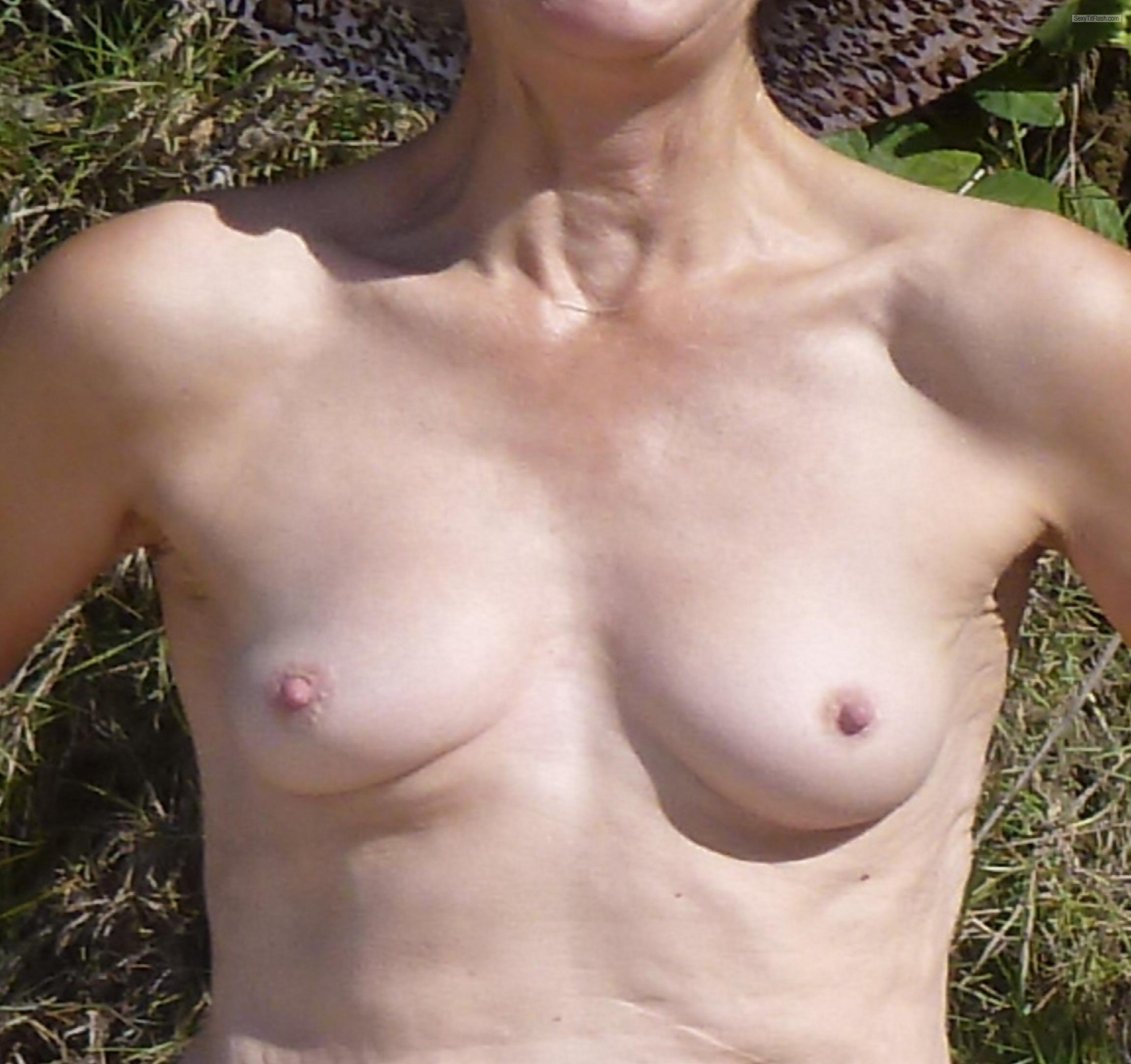 Very small Tits Of My Girlfriend Cathy