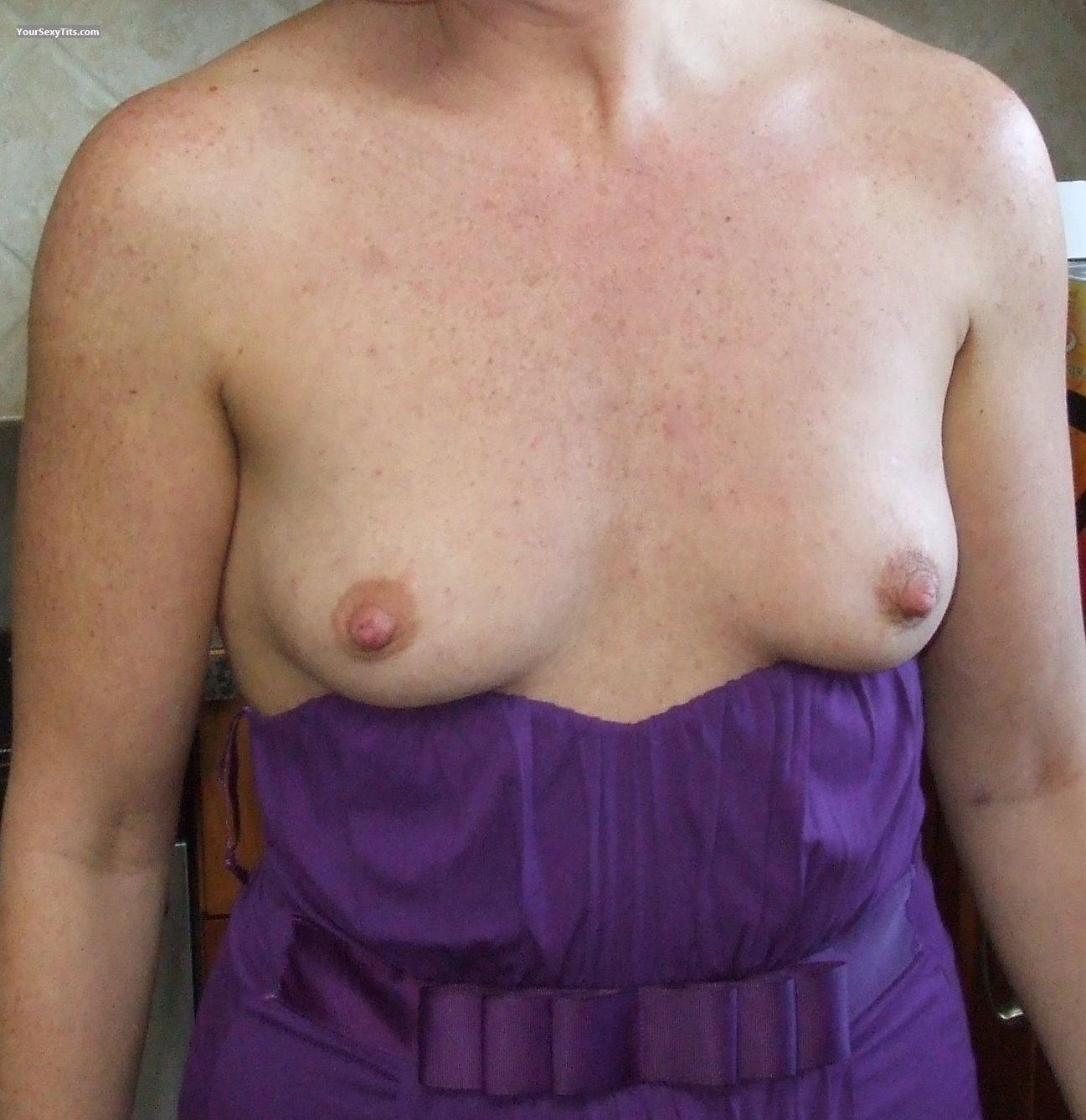 Tit Flash: Very Small Tits - Aka_x from United States