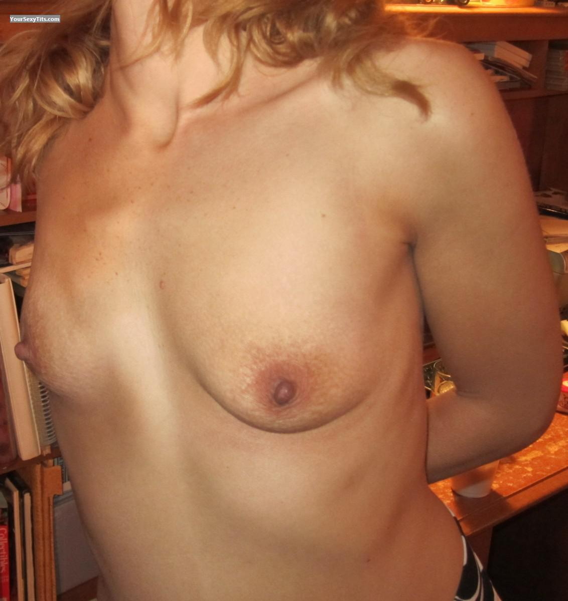 Tit Flash: My Very Small Tits - Crberg from United States