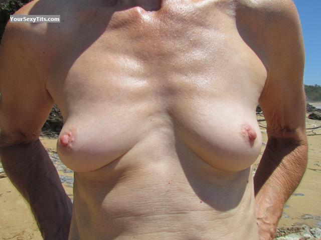 Tit Flash: Girlfriend's Very Small Tits - Cathy from Australia