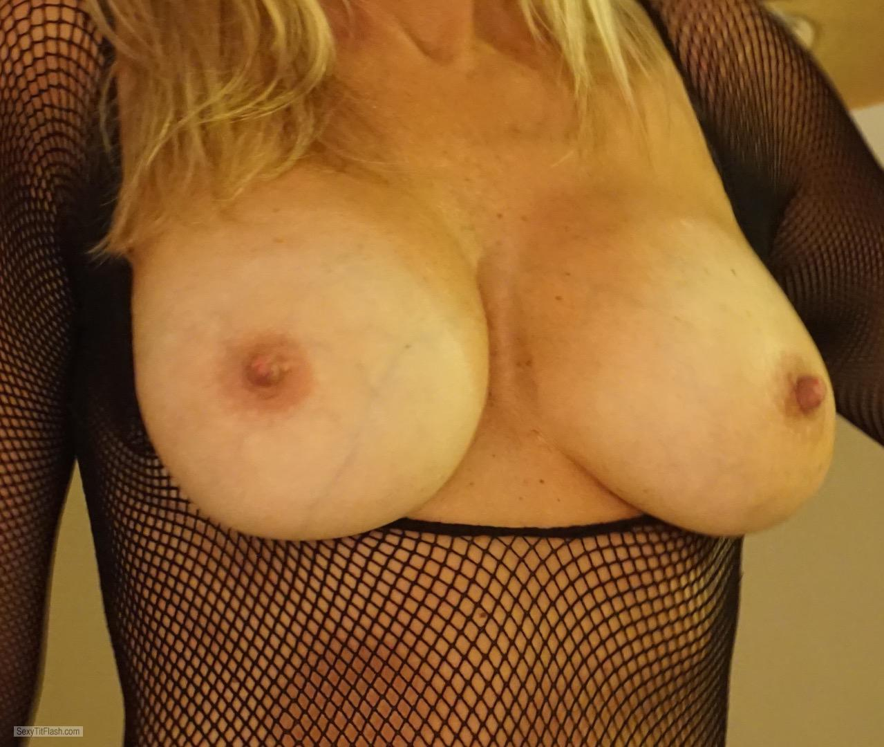 My Very small Tits Topless Hot Wifey