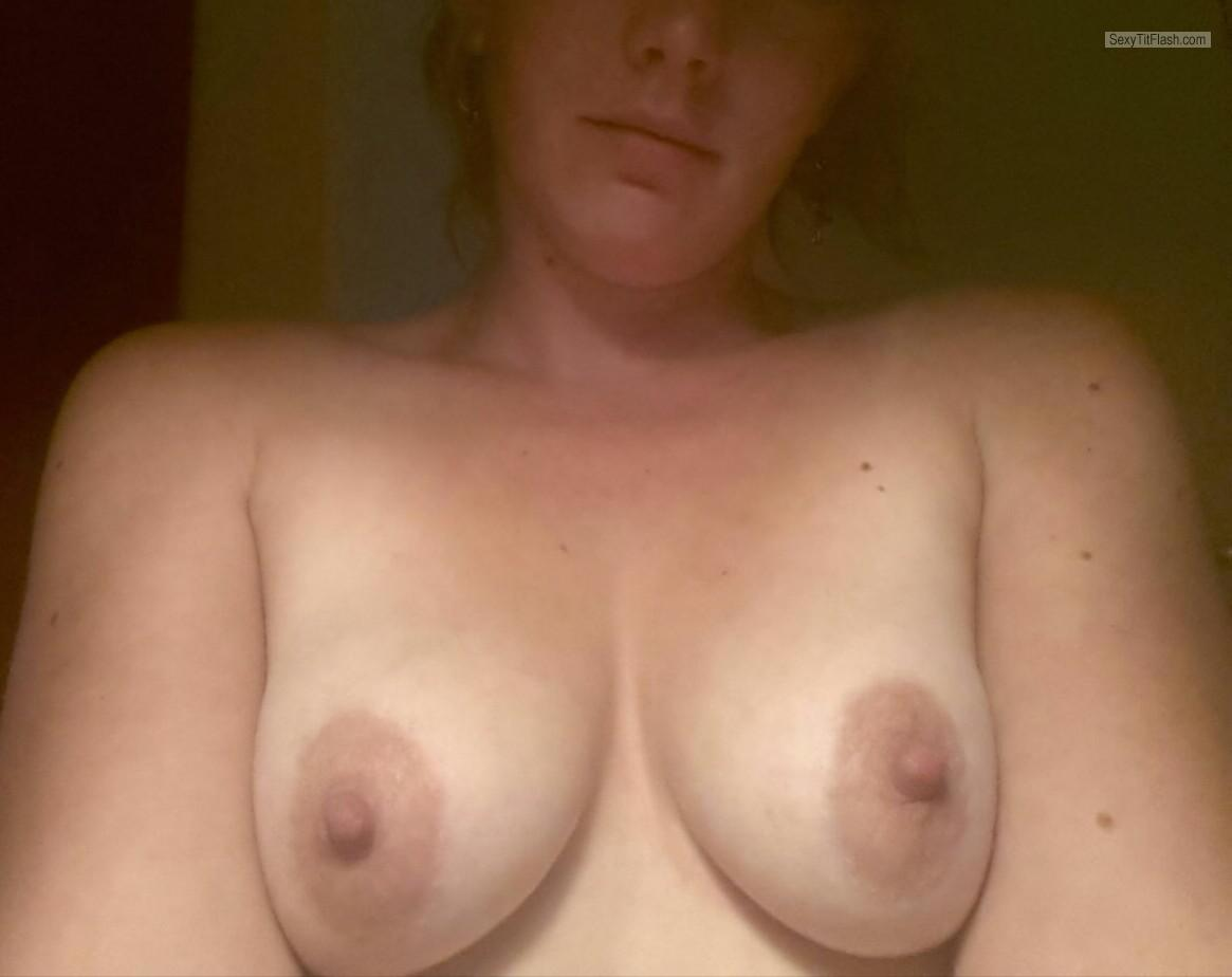My Very small Tits Topless Selfie by Marieke23