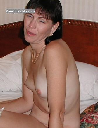 Tit Flash: Very Small Tits - Topless Sherri from United States