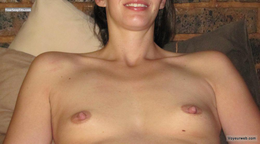 Tit Flash: Wife's Very Small Tits - Bella from South Africa