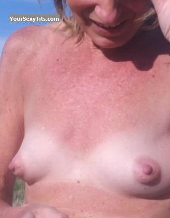 Very small Tits Of My Wife Lisa Lou