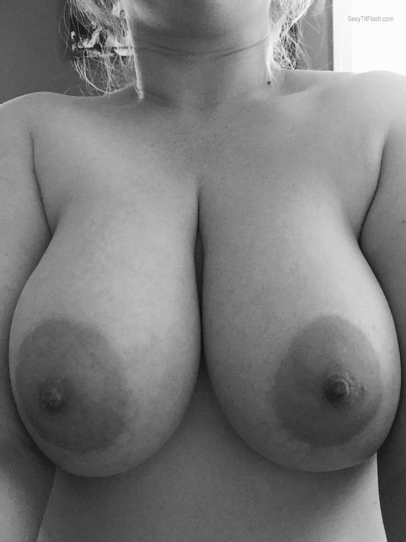 Tit Flash: My Very Small Tits (Selfie) - Baby Doll from United States
