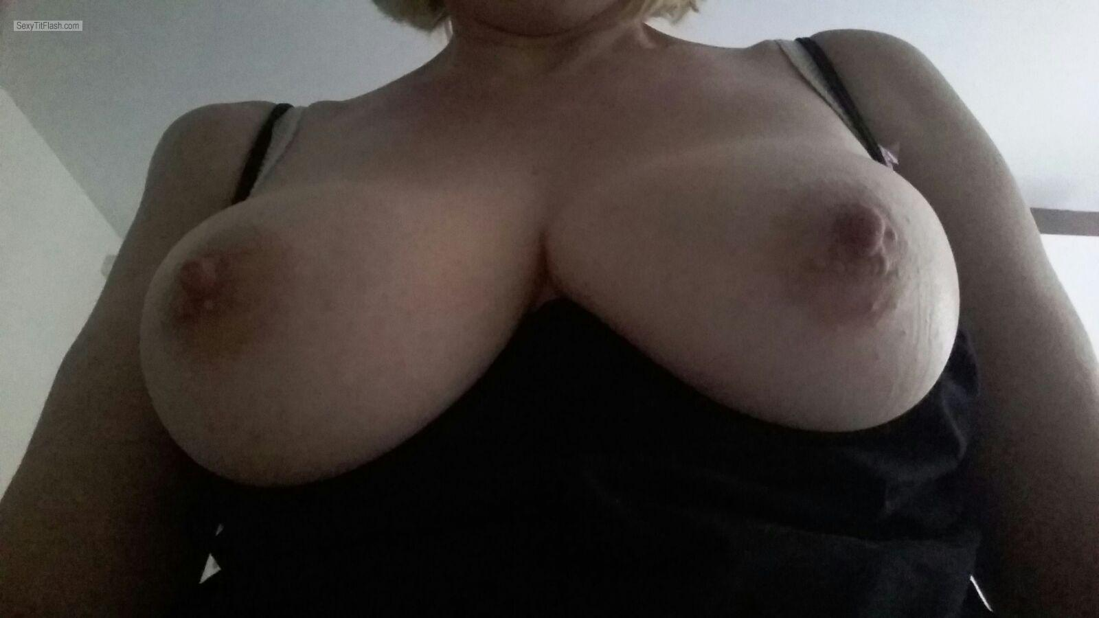 My Very small Tits Selfie by Ellens Boobs, Late Forties