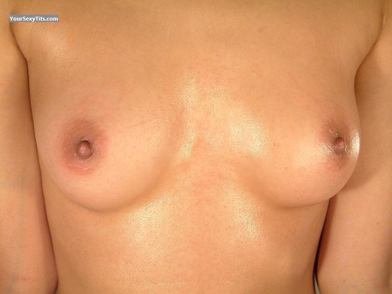 Tit Flash: Very Small Tits - Student from Iran