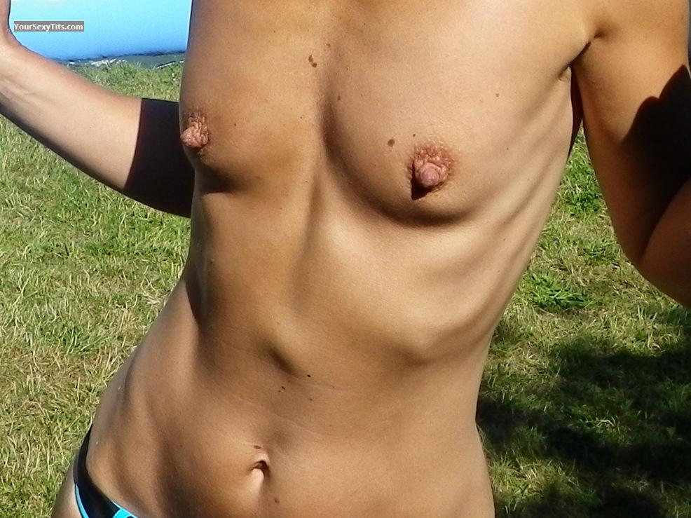 Tit Flash: My Very Small Tits - Laurence69 from France