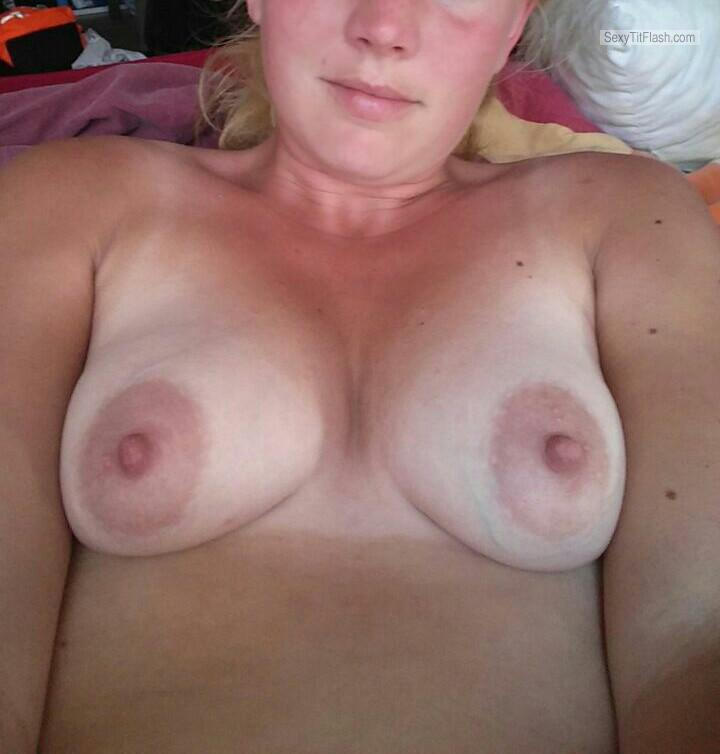 My Very small Tits Topless Marieke23