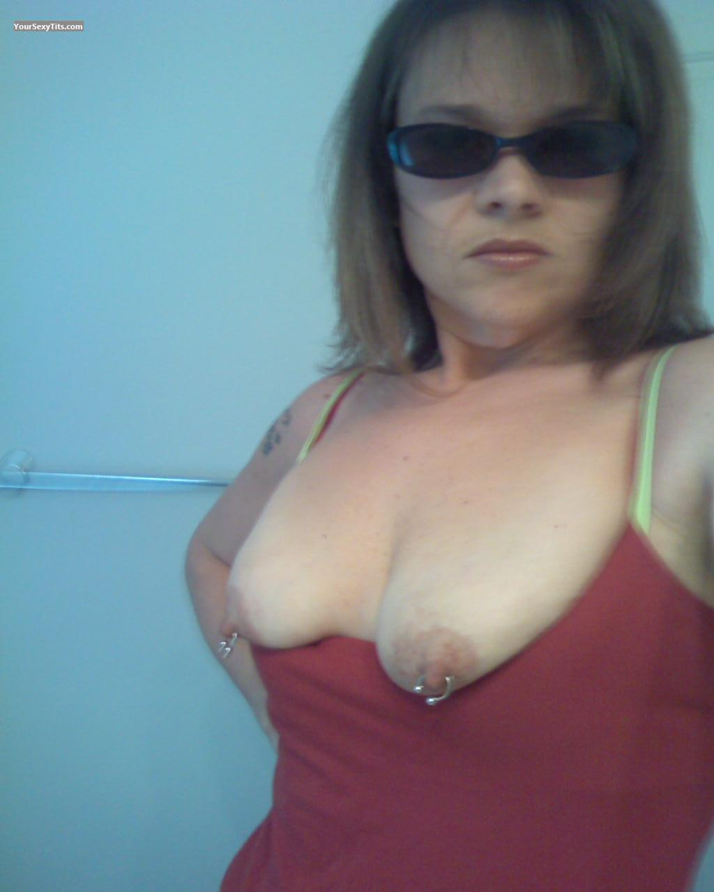 My Very small Tits Topless Selfie by LovelyJenny